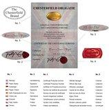 Chesterfield Fauteuil Original Fluweel   Rood   12 jaar garantie_