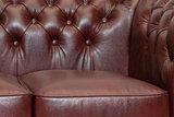 Chesterfield Bank Class Leer   3-zits   Cloudy Rood   12 jaar garantie_